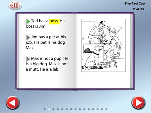 Sound Out Chapter Books Lite screenshot 3