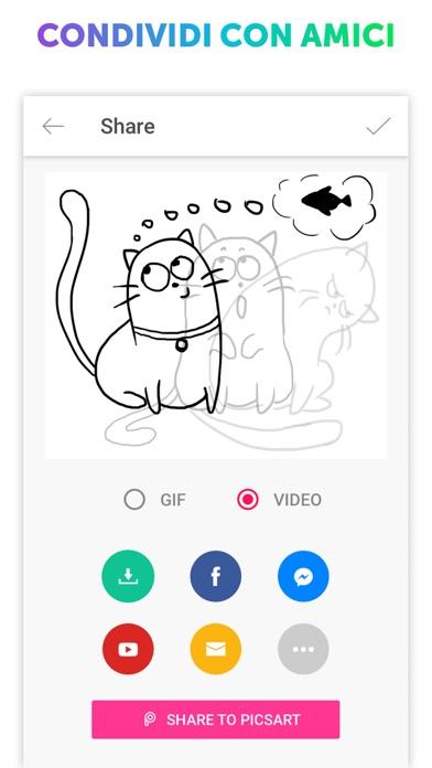 Screenshot of PicsArt Animator - GIF & Video5