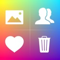 Cleaner for Instagram - Mass delete, unlike, unfollow and block tool icon