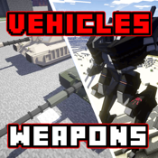 Vehicles & Weapons Mods for Minecraft PC Edition - Best Pocket Wiki & Tools for MCPC icon