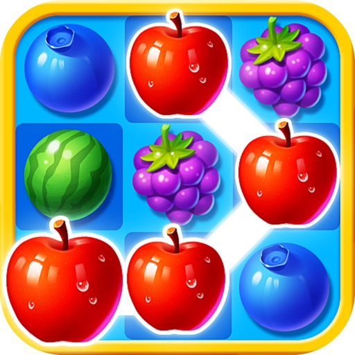 Crazy Fruit Boom Mania iOS App