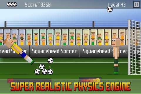 Squarehead Soccer - Kickoff screenshot 2