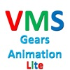 Visual Maths and Science - Gears Animation Lite
