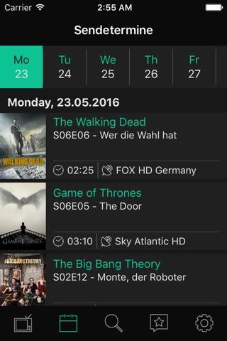 tvshows – Serien Tracker, verfolge deine Serien screenshot 3