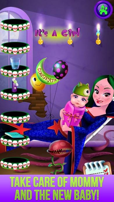 download Monster's New Baby - Kids Halloween Salon Games apps 2