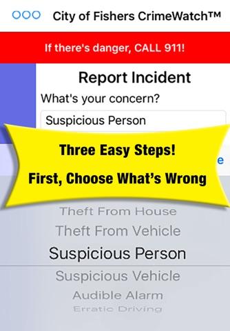 Fishers CrimeWatch screenshot 1