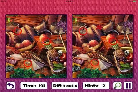 Free Hidden Objects: Spot The Difference screenshot 3