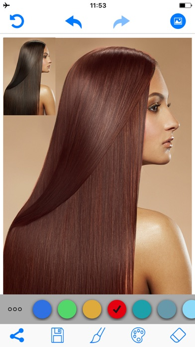 download Hair Color Changer Salon Booth apps 4
