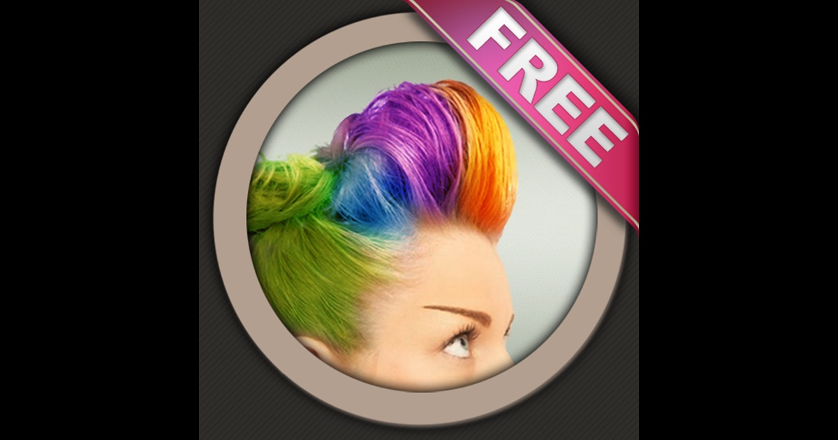 Hair Color Booth Free On The App Store