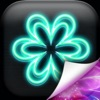 Neon Flower Wallpapers Free – Glow.ing Background Picture.s and HD Lock Screen Themes