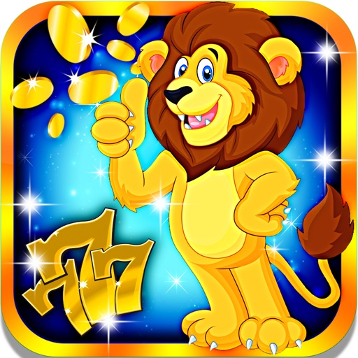 African Lion Slots: Beat the most ferocious dealer for the most winning combinations iOS App