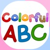 Colorful ABC (Nursery English Alphabets Flashcards for Kids | Montessori Education)