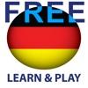 Spielend Deutsch lernen Gratis - Ein Lernspiel mit Wörtern auf thematisch sortierten Lernkarten mit Aussprache - Learn and play. German free - Educational game. Words from different topics in pictures with pronunciation