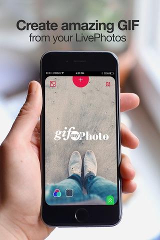 GIFMyPhoto screenshot 1