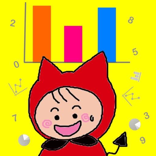 Graphing for kids ( Chart Maker for children )