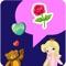 download LOVE Stickers & Emoji Art for Valentines Day Messages