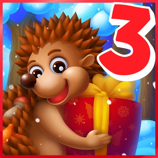 Hedgehog's Adventures 3 - games for kids iOS App