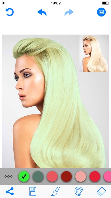 download Hair Color Changer Salon Booth apps 2