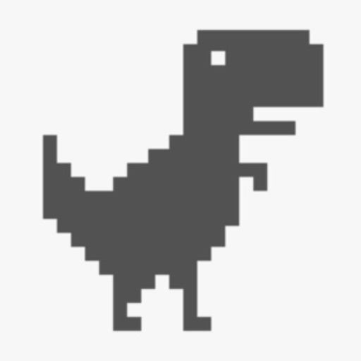 Mr Jump - The Jumping Dinosaur, T-Rex in Widget Game, Notification Center iOS App