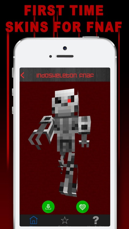 Free Skins For Minecraft PE Pocket EditionNewest FNAF Skin For - Skins para minecraft pe de fnaf