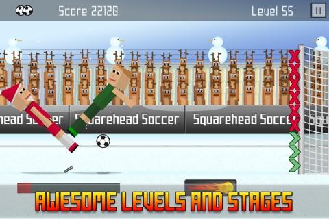 Squarehead Soccer - Kickoff screenshot 3