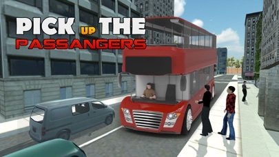 Screenshots of Double Decker Bus Simulator – real 3D driving and parking simulation game for iPhone