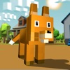 Blocky Fox Craft Simulator 3D