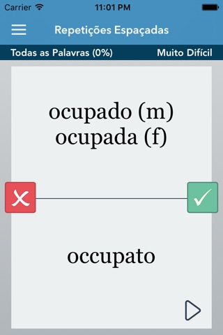 Italian   Portuguese - AccelaStudy® screenshot 2