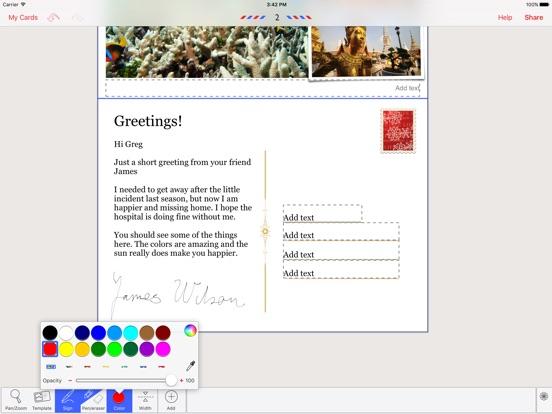 Lifecards - Postcards Screenshots