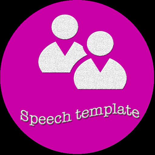 Speech template for Keynote