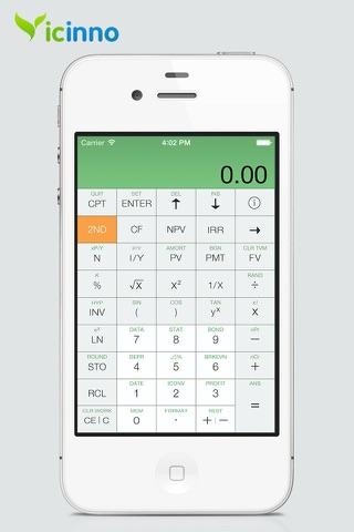 BA Financial Calculator Pro screenshot 1