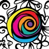 PrismaJoy Coloring Book for Adults - Color and Art Therapy for Grown Ups to Paint a Relaxing Pattern