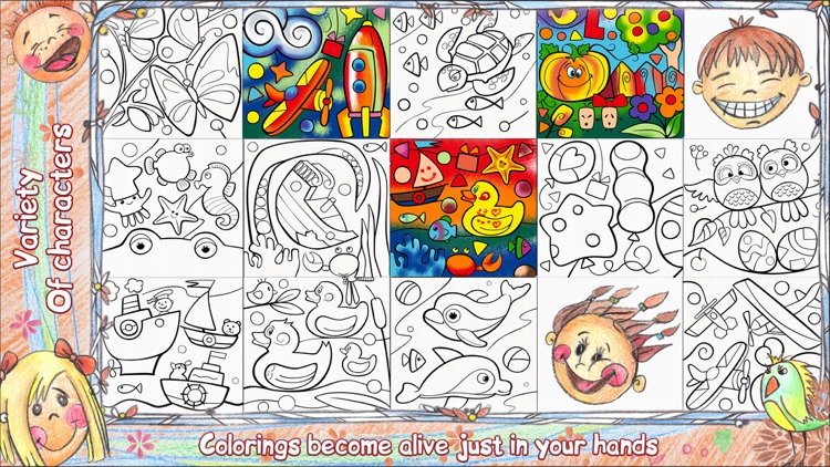 colorfy live 3d coloring book for kids screenshot 4