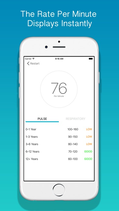 Medtimer - Heart Rate & Respiratory Rate for ProfessionalsScreenshot of 4