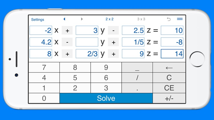 System Of Linear Equations Solver And Calculator For Solving Systems