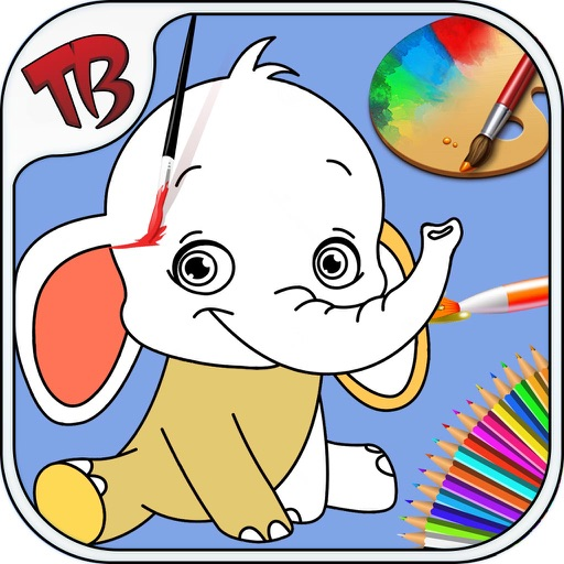 Free Coloring Pages - Preschool Colors Toys - Kids Love Learning Colors -Fun Color & Paint On Drawing Game For Kids iOS App