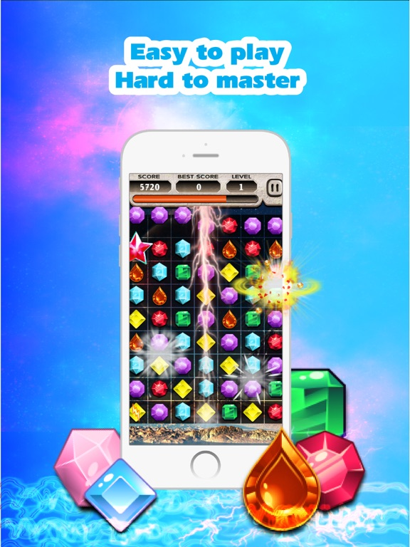 Jewels Saga 2 на iPad