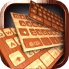 Wooden Keyboard Skins – Wood Themes for Keyboards with Cool Backgrounds and Fonts icon