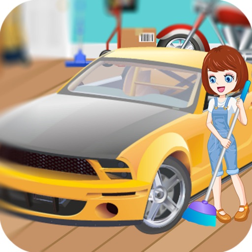 Cleaning Time Dad's Garage - Lora Cleaning Room/House Cleaning Games iOS App