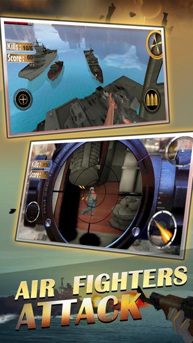 Снайпер вертолет, вертолет съемки 3D: Free FPS линкор войны самолет пушки съемки игрыСкриншоты 3