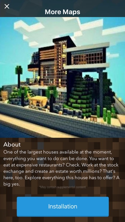 MANSION MAPS For Minecraft PE The Best Maps For Minecraft Pocket - Maps fur minecraft pe ios