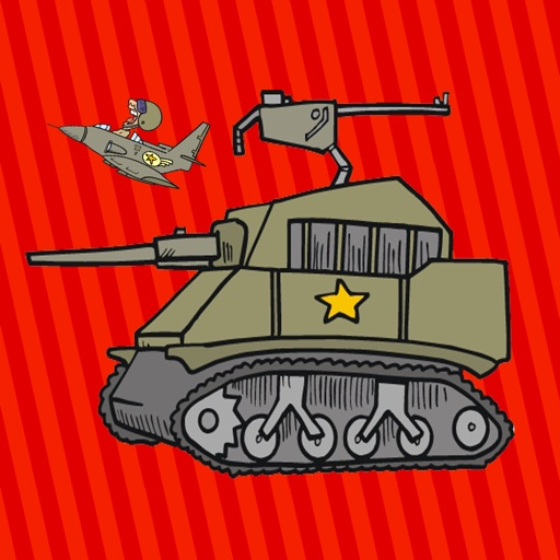 Free Soldier Coloring Books For Kids iOS App