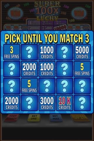 100x Super Lucky Slot Machine screenshot 3