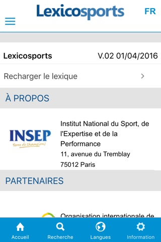 Lexicosports screenshot 4