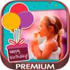 Postais com fotos para desejar Feliz Aniversário - Premium
