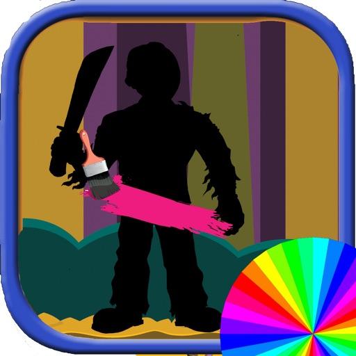 Coloring Book Kids Freddy App Edition iOS App