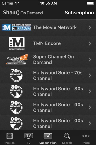 Shaw On Demand Search screenshot 4