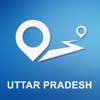 Uttar Pradesh, India Offline GPS Navigation & Maps