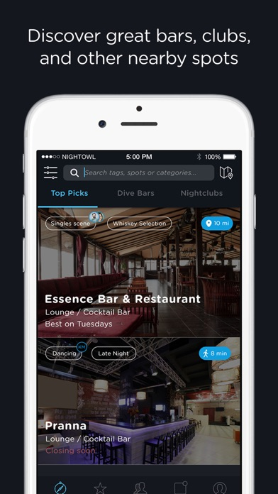 download NightOwl – Find bars, clubs, lounges and nightlife apps 0