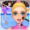 Ice Princess Eiskunstlauf - Anzieh, Make-Up, Spa & Free-Spiele für Mädchen